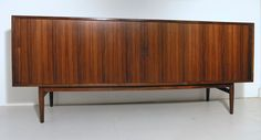 Arne Vodder rosewood tambour sideboard for Sibast. www.midcenturyhome.co.uk