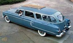 "1954 Henney/ Packard ""Super Station Wagon""."
