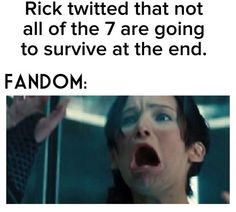 No!!!!!!! He better be lieing!!!!!!!!! And for me to say that means ALOT!!!!! Rick, you don't joke about that....!!!!!