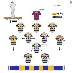 Football Match, Football Soccer, Football Shirts, Parma Fc, Football Tactics, Team Builders, Verona, Superman, Finals