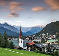 Seefeld, Austria: used to go here with my grandparents, must take milia one day