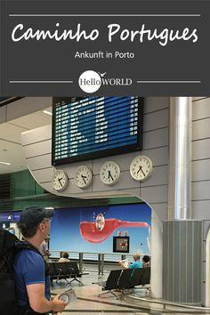 Porto (Portugal): Startpunkt für den Jakobsweg / Caminho Portugues / Camino Portugues > Santiago de Compostela (Spanien)
