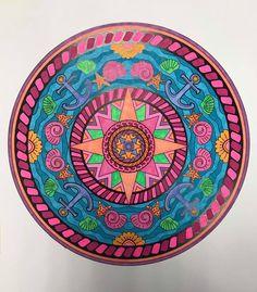 ColorIt Mandalas Volume 2 Colorist: Lisa Lifton Lubrano #adultcoloring #coloringforadults #mandalas #mandalastocolor