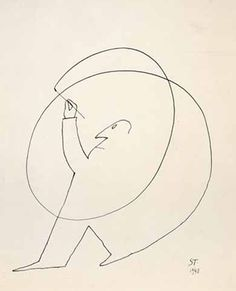 Saul Steinberg, Untitled, 1948