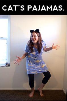 Jenny B: A useful list of Last Minute Cat Puns Halloween Costumes halloween costumes college diy funny Pun Costumes, Themed Halloween Costumes, Easy Costumes, Halloween Cat, Halloween Themes, Costume Ideas, Terrifying Halloween, Halloween 2015, Halloween Stuff