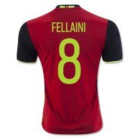 2016 Belgium Soccer Team FELLAINI #8 Home Replica Jersey [C248]