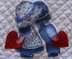 PINCELADAS AL VIENTO...this is a cute appliqué that is perfect for love!!!