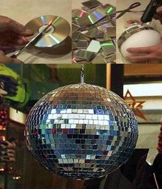 Disco Ball. Mundo Melcocha.