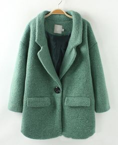 Luscious MINT. Gorgeous coat. Go ahead…snow…this will keep me warm:)
