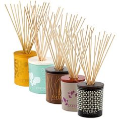 Esteban Paris Decorative Bouquets - With 15 aroma reed diffuser sticks.