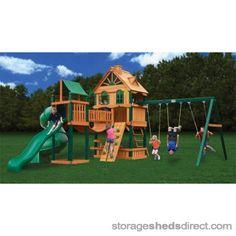 Gorilla Woodbridge Cedar Swing Set