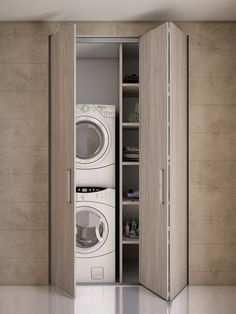 Modern Laundry Rooms, Laundry Room Layouts, Laundry Room Organization, Laundry Doors, Laundry In Bathroom, Utility Room Designs, Laundry Room Inspiration, Laundry Room Design, Bathroom Interior Design