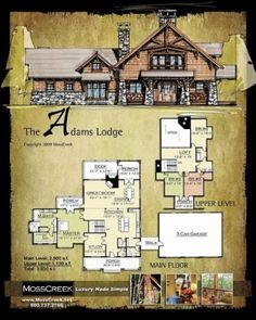Want to buy or build a log cabin? This article will explain why log cabins are actually a practical and reasonable choice for homeowners. Log Cabin Floor Plans, Rustic House Plans, Log Home Plans, House Floor Plans, Barn Plans, Construction Chalet, How To Build A Log Cabin, Cabin In The Woods, Log Cabin Homes