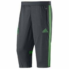 Amazon.com  Men s adidas Soccer Mexico Three-Quarter 3 4 Training Pants  2014  Sports Outdoors 83b4be7c1