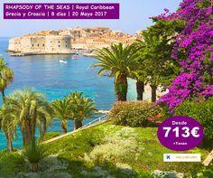 RHAPSODY OF THE SEAS | Royal Caribbean Grecia y Croacia | 8 días | 20 Mayo 2017 desde Venecia Vuelos incluido Reserva en Echeyde Travel Tfno: 633 900 314 info@echeydetravel.com www.echeydetravel.com