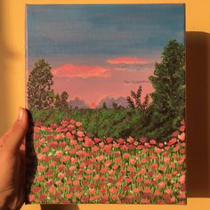 Small Canvas Paintings, Small Canvas Art, Mini Canvas Art, Aesthetic Painting, Aesthetic Art, Arte Van Gogh, Art Inspo, Diy Art, Cute Art