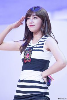 Eunji at Samsung Play the Challenge