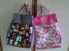 Duas lunch bag encomenda da Juliana