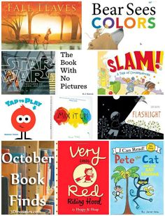 October 2014 Book Finds - Interactive books, color books, Star Wars, wordless, Pete the Cat - 3Dinosaurs.com