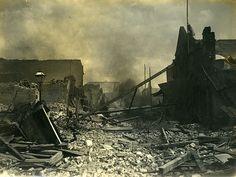 1907 Earthquake Damage, Kingston, Jamaica