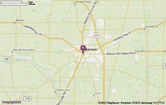 Marion, OH Map | MapQuest