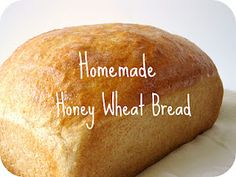 honey wheat bread, I've made this and it's yummy :)