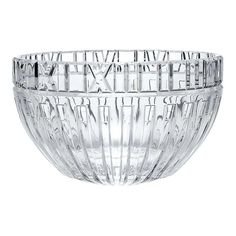 Atlas® bowl in crystal. Tiffany Atlas, Tiffany And Co, Palm Beach Island, Tiffany Jewelry, West Palm, Roman Numerals, Decorative Accessories, Valentine Day Gifts, Floral Arrangements