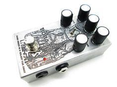Boba Fuzz Silicon Woolly Clone Mammoth Bass Effects Pedal Boutique For Sale at Intone8 Bass Guitar Market Place
