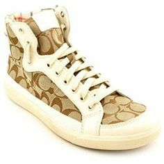 official photos dff1e 1648b Coach Alara Womens Size 10 Brown Suede Sneakers Shoes New Display Suede  Sneakers, High