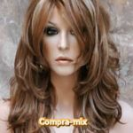 Peluca Larga Color Castaño Dorada y Destellos Color Castaño, Red Wigs, Short Hair Styles, Templates, El Dorado, Hair Wigs, Hairstyles, Haircuts, Colors