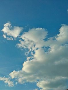 Clouds are like sky horses...