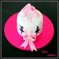 Cake design gâteau danseuse