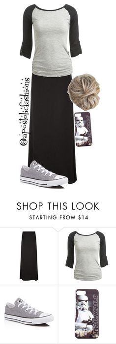 """Apostolic Fashions #867"" by apostolicfashions on Polyvore featuring The Row, Wet Seal and Converse"