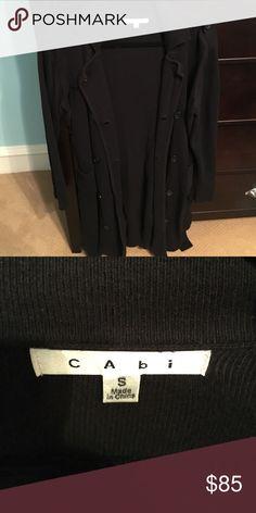 CAbi sweater Medium length sweater CAbi Sweaters Cardigans