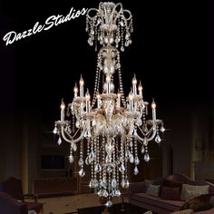 Just Arrived! Make Sure You Check Out Dazzle Studio & Fine Furnishing's The Balera Ballro... Available Now At Our Store! Here's The Link!  http://www.dazzlestudios.net/products/the-balera-ballroom-chandelier?utm_campaign=social_autopilot&utm_source=pin&utm_medium=pin