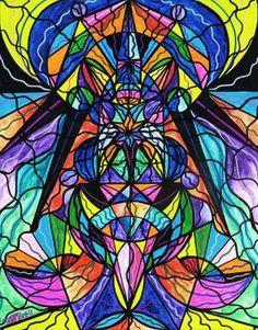 Arcturian Awakening Grid - Frequency Paintings - Teal Swan