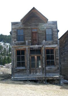 Elkhorn Ghost Town 5 by Falln-Stock on DeviantArt Best Stocks, Ghost Towns, Far Away, Wild West, Abandoned, Cabin, Deviantart, House Styles, Places