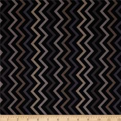 Michael Miller Mini Chic Chevron Charcoal from @fabricdotcom  Designed for Michael Miller Fabrics, this fabric is perfect for quilting, apparel and home décor accents.  Colors include khaki, beige, back and grey.