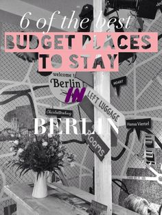 Finally managed to pull together a list of what I consider to be the best budget hotels and hostels in Berlin. Love to hear your feedback and if you have any recommendations of your own.