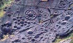 Rock art panel near Kilmartin, Argyll , Scotland, Neolithic Ancient Aliens, Ancient History, Art History, Design History, Ancient Mysteries, Ancient Artifacts, Fresco, Arte Tribal, Celtic Art