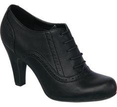 Zapato abotinado estilo Oxford - Mujer - Calzado