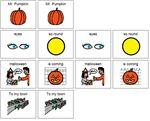 Mr. Pumpkin – This is the Mr. Pumpkin Halloween song. Great for preschoolers. Mr. Pumpkin Mr Pumpkin Eyes so round. Eyes so round. Halloween is coming! Halloween is coming! To our town. To our town.