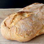 Authentic Italian ciabatta bread recipe or Slipper Bread originally from the Veneto made with an overnight starter & cooked on a pizza stone.