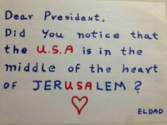 This little Jewish boy gives Trump the most convincing reason yet to move the American Embassy to Jerusalem, Israel