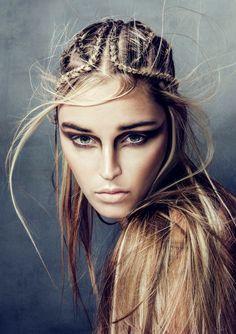 Hairdressing Awards #czechandslovakhairdressingawards MakeUp by Esterginger