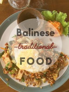 •Balinese Traditional Food.• Bali, as I have already pointed out in a couple of previous posts, is one of the most interesting Southeast Asian locations from a gastronomic point of view. Foodies, as we now like to call them, will find in Bali hundreds of excellent restaurants (with every price range covered) and any kind of international food (only a few are not represented), as in the world's greatest metropolis. And the local cuisine? You may wonder. What are the authentic Balinese dishes?…