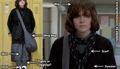 Costume Guide - Molly Ringwald looks absolutely fashionable as Claire Standish, the Princess in The Breakfast Club movie. Couples can dress up as Claire and John Bender! Ally Sheedy Breakfast Club, Allison Breakfast Club, Halloween Cosplay, Halloween Outfits, Halloween Party, Halloween Costumes, Halloween Ideas, Breakfast Club Costume, 80s Costume