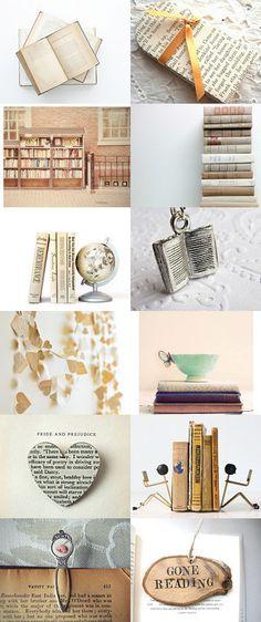 Book~Worm by Debbra Obertanec on Etsy