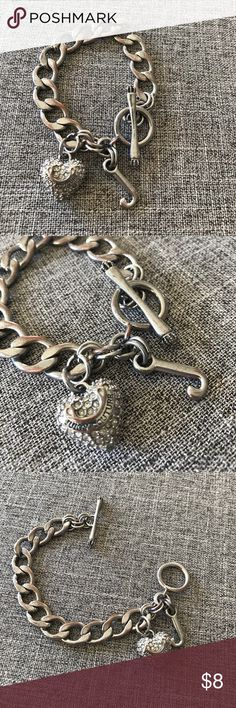 Selling this Juicy Couture - chain & charm bracelet. on Poshmark! My username is: lyndakistler. #shopmycloset #poshmark #fashion #shopping #style #forsale #Juicy Couture #Jewelry