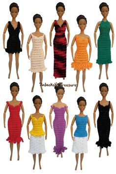 """Column Dresses & Tops of the """"Happily Ever After"""" Pattern"""